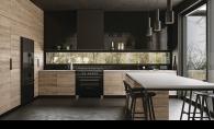 A La Cornue range oven in a stylish kitchen.