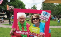 Mary Molstad and Kathy English at the Comfort Keepers National Day of Joy 2019