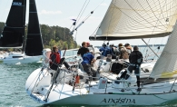 Andy Spence-Parsons sails with the Wayzata Yacht Club