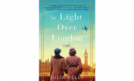 "The cover of ""Light Over London"" by Julia Kelly"