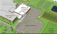 The future of Maple Grove basketball and expanded community opportunities move from a drawing to reality early next year.
