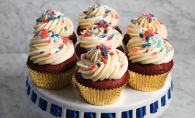 Fireworks cupcakes from Nadia Cakes will start your Independence Day celebration off with a bang.