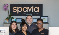 The staff of Spavia, a new spa franchise in Maple Grove offering massages, facials, beauty treatments and more.