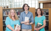 Maple Grove librarians Susan Cooper, left, Kathryn Zimmerman and Ann Pieri
