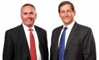 Tony Sorensen, left, and Chris Ohlendorf of Versique Search and Consulting.