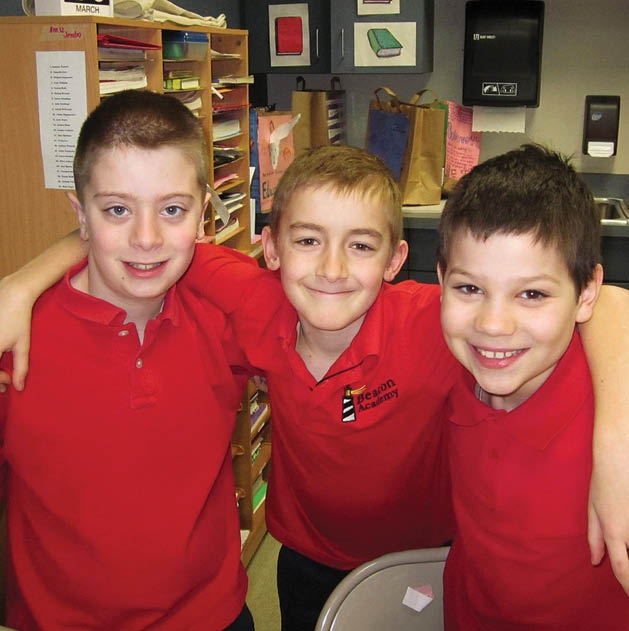 Lucas Randall, Joey Barras and Anthony Tomczik.