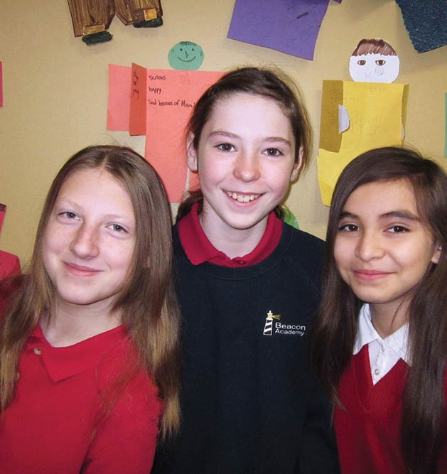 Anya Moore, Sydney Butkovich and Citlali Flores