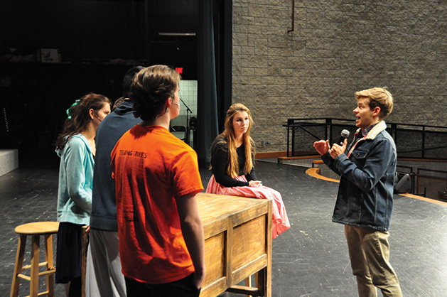 Broadway star Andrew Keenan-Bolger visits Maple Grove Senior High