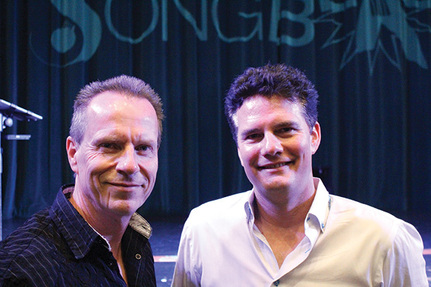 SongBlast musicians Glen Everhart and Pat Balder