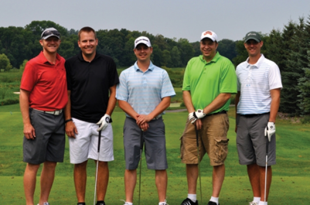 Mark Parrish, Curt Kronlund, John L'Esperance, Scott Moore and Darien Mandle