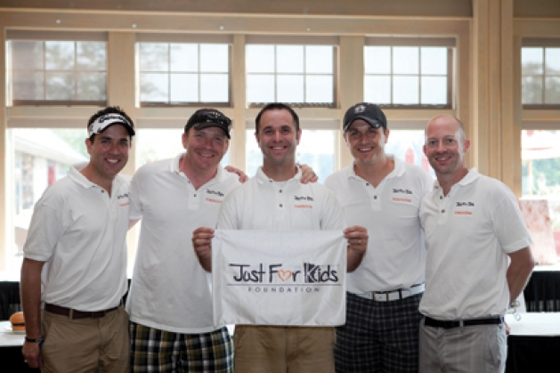 Foundation board members Ryan Schulzetenberg, Dave Bakker, Brian Maciej, Scott Maciej and Jim Sanft