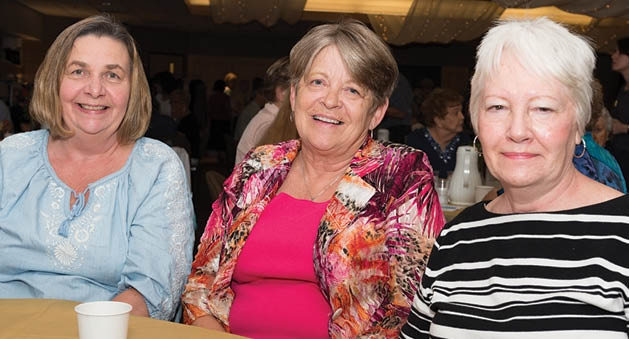 Jill Miller, Anne Darsow, and Barb Mitchell