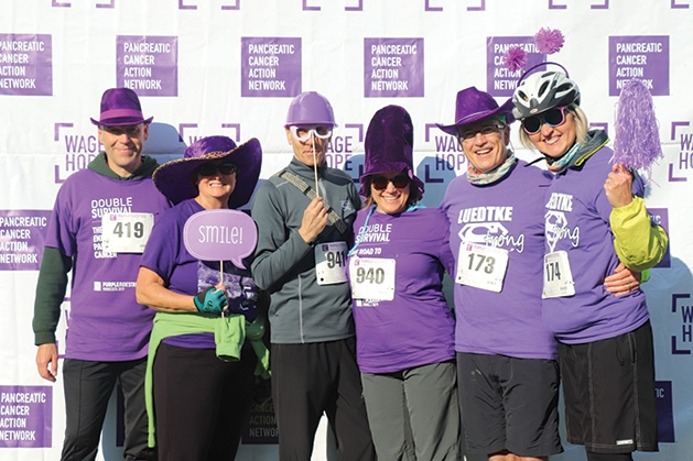 Each year, in more than 50 PurpleStride events across the country, people come together to rewrite the future of this disease.