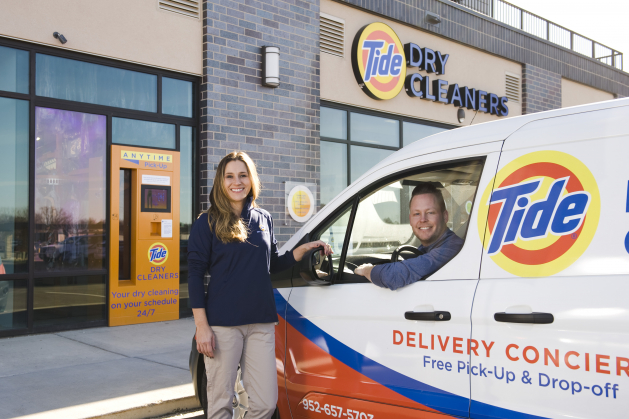 Tide Dry Cleaners offers a handful of services that make your clothes look like new again