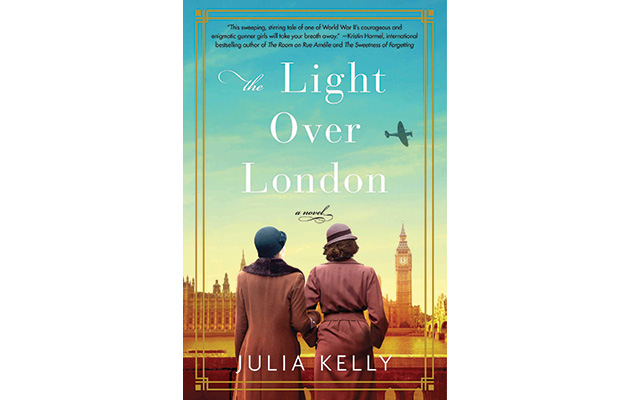 """The cover of """"Light Over London"""" by Julia Kelly"""