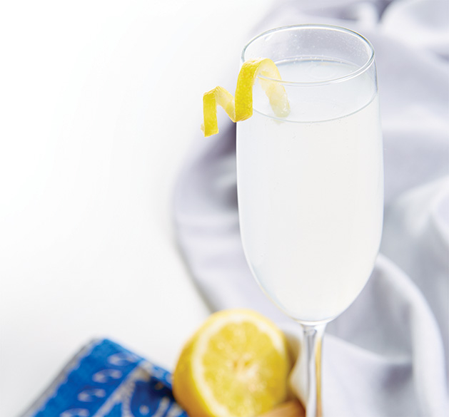 A summer cocktail featuring Sipsmith Lemon Drizzle Gin