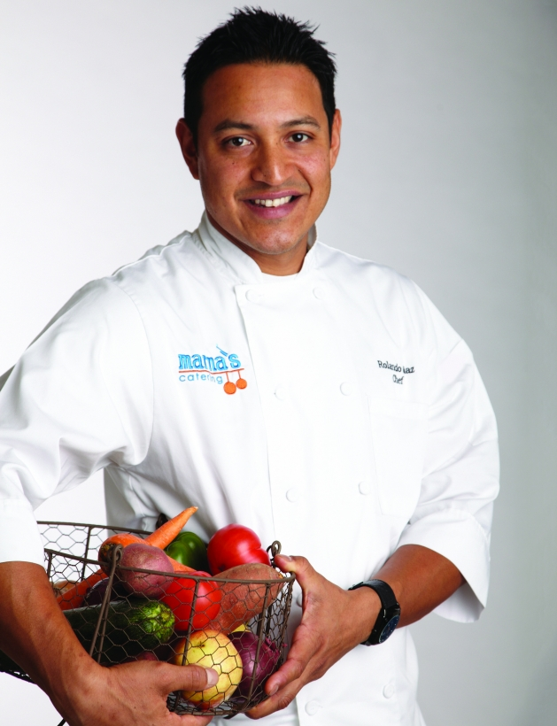 Marna's Catering executive chef Rolando Diaz.