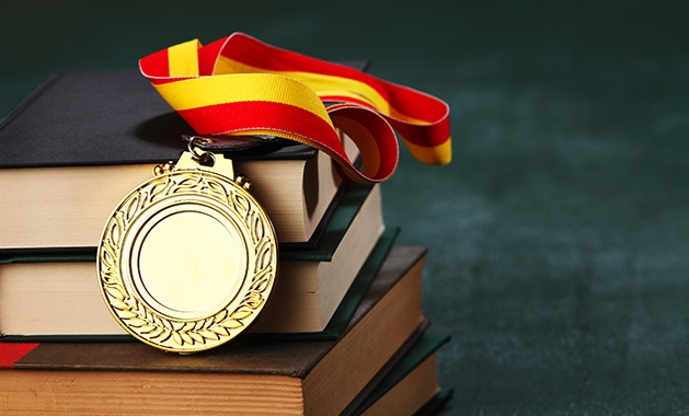 An educational medal