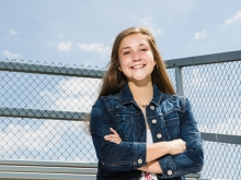 Monica Rampetsreiter of Providence Academy, one of this year's Prep Elites