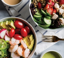 Signature healthy salads from Crisp & Green.