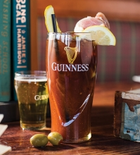A bloody mary from Claddagh's Irish Pub in Maple Grove