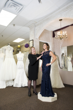 Bridal Aisle Boutique offers tips on mother-of-the-bride/groom dresses