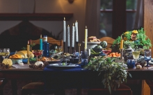 Festive holiday foods